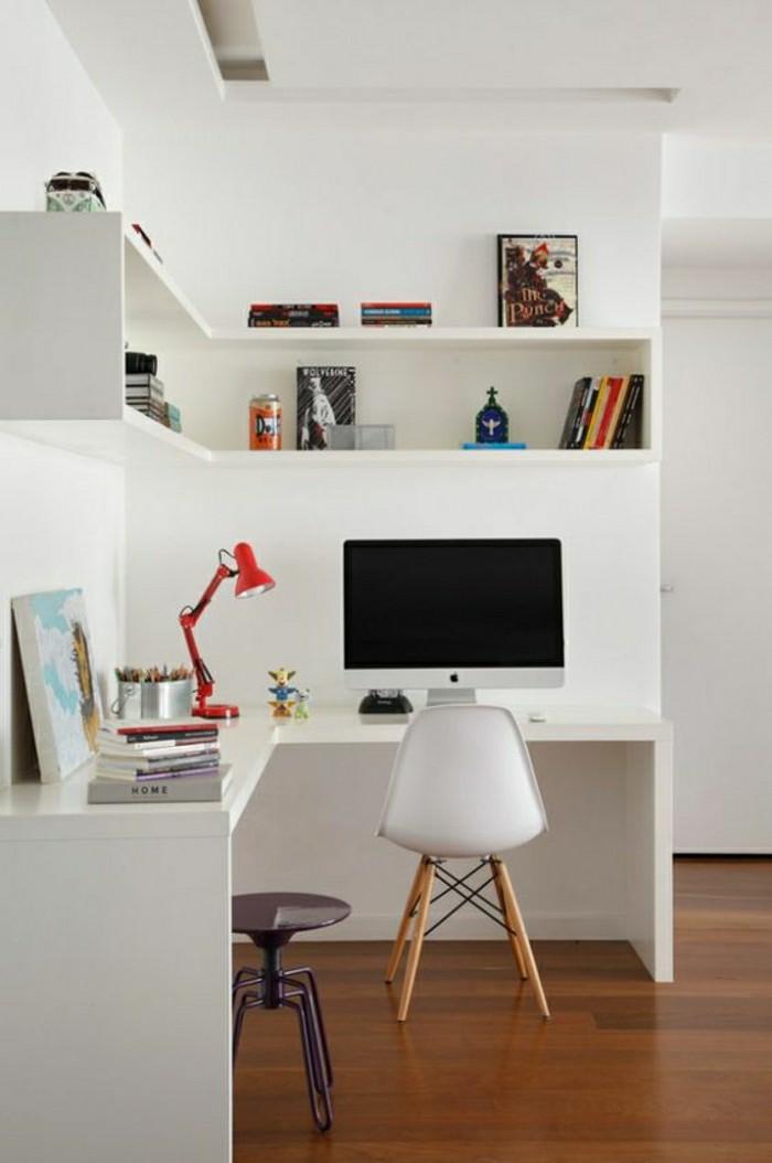 2-jolie-idee-pour-un-étagères-d-angle-en-bois-blanc-etagere-murale-leroy-merlin