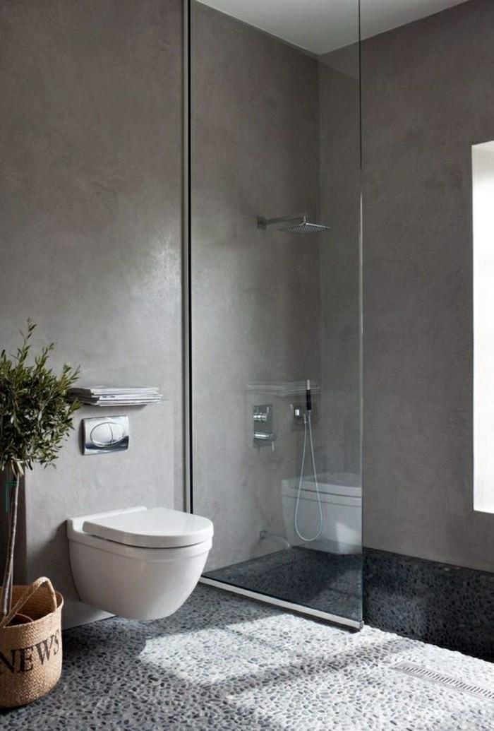 2-jolie-salle-de-bain-avec-mosaique-leroy-merlin-gris-carrelage-galet-pour-la-salle-de-bain