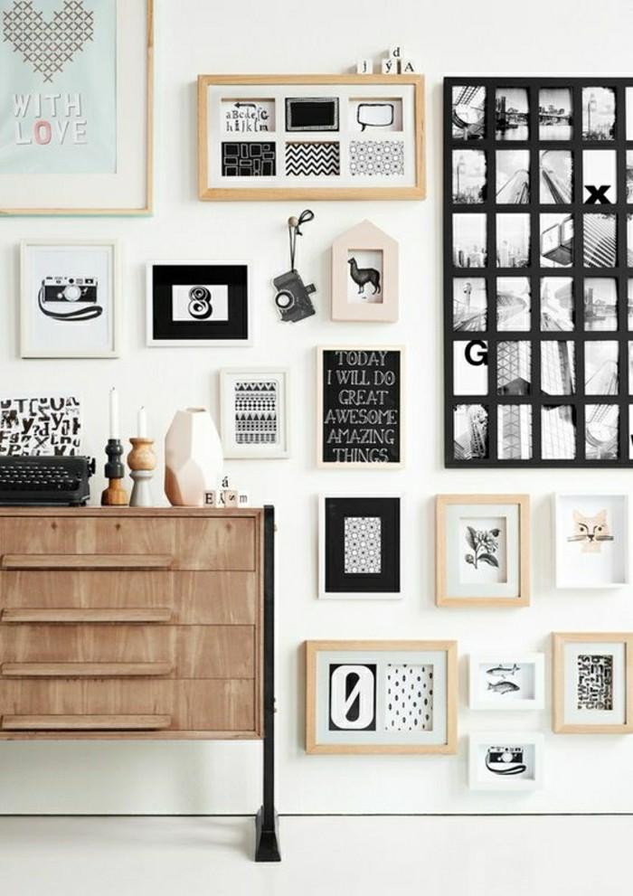 beaucoup d 39 id es avec un cadre photo multivues et un cadre photo p le m le. Black Bedroom Furniture Sets. Home Design Ideas