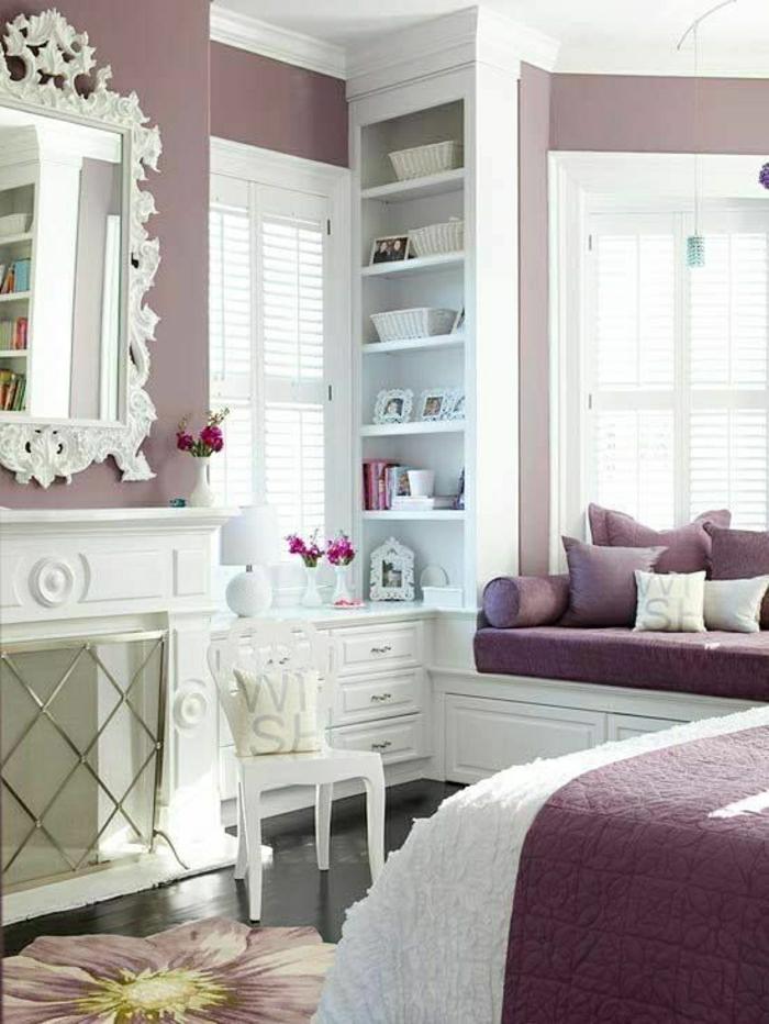2 Nuancier Violet Interieur Chambre Interieur Couleur Prune