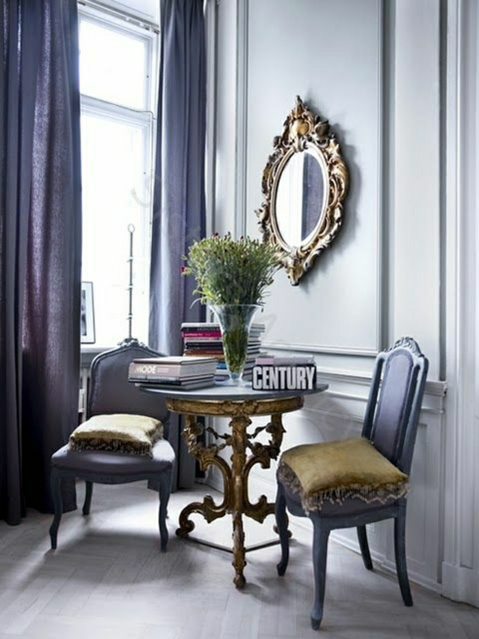 Faux Plafond Chambre À Coucher Tunisie : Conception pour les chambre couleur parme : violet rideaux violets …
