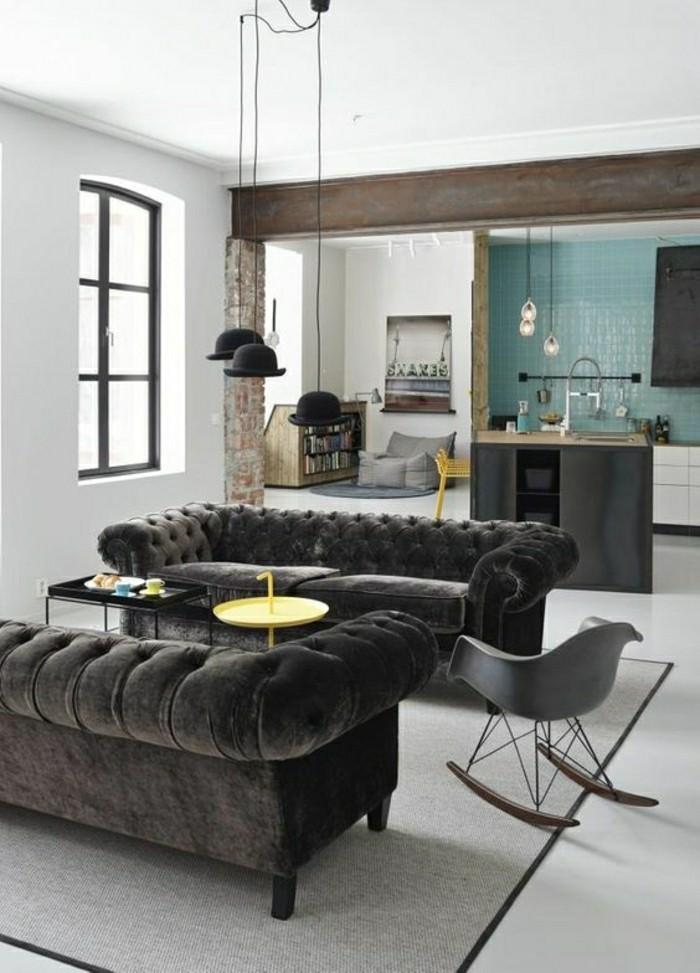 2-salon-contemporain-industriel-canapé-chesterfield-pas-cher-gris