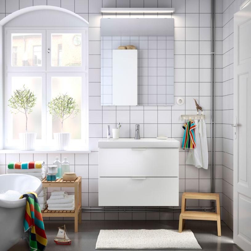 Armoire de toilette ikea pour chaque style de salle de for Armoire murale salle de bain ikea
