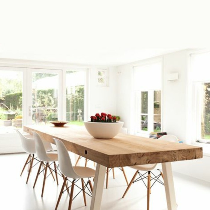 Table et chaise de salle a manger valdiz for Table salle a manger design