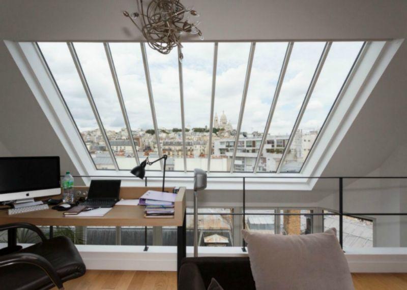 La verri re de toit la meilleure option pour une maison - Fenetre grand format ...