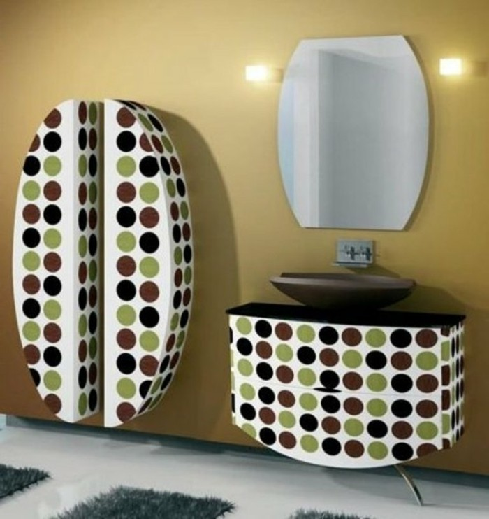 Armoire-de-toilette-IKEA-colonne-salle-de-bain-IKEA-modernistique