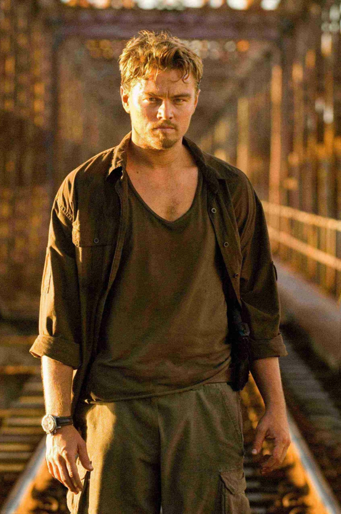 "LEONARDO DiCAPRIO stars as Danny Archer in Warner Bros. Pictures' and Virtual Studios' action drama ""Blood Diamond,"" distributed by Warner Bros. Pictures. PHOTOGRAPHS TO BE USED SOLELY FOR ADVERTISING, PROMOTION, PUBLICITY OR REVIEWS OF THIS SPECIFIC MOTION PICTURE AND TO REMAIN THE PROPERTY OF THE STUDIO. NOT FOR SALE OR REDISTRIBUTION."
