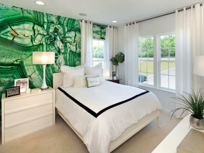 Choisir-la-couleur-chambre-à-coucher-belle-idée-à-représenter-intérieur-lux