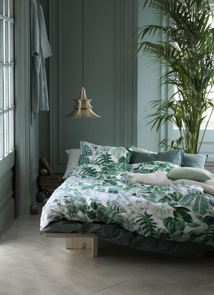 Couleur-chambre-à-coucher-adulte-idée-décoration-à-faire-soi-même-paradis