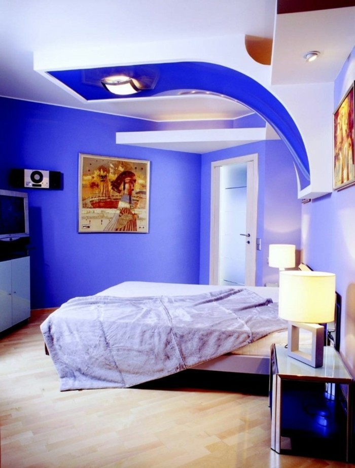 Couleur peinture chambre adulte comment choisir la bonne for Blue bedroom ideas for couples