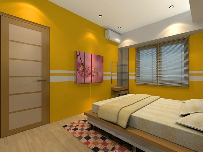 Idees couleur peinture chambre meilleures images d for Idee couleur chambre adulte