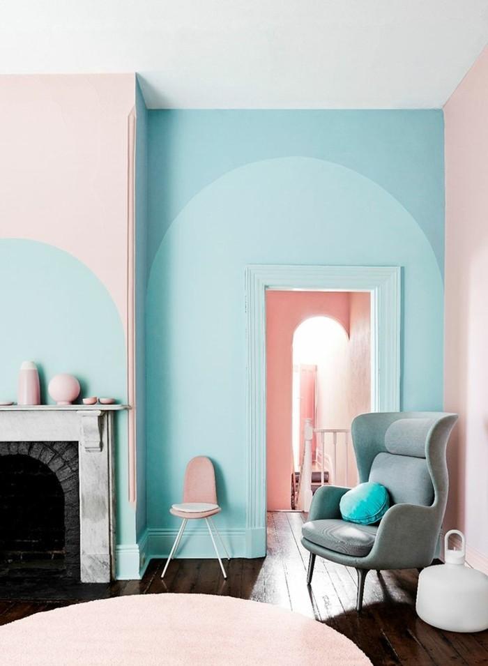 Déco-voir-les-meilleures-idées-couleur-pour-chambre-à-coucher-belle-idée-et-rose