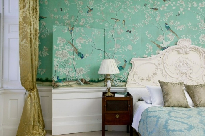 Décoration-intérieur-luxueux-couleur-chambre-à-coucher-bien-aménagée-voir-shabby-chic