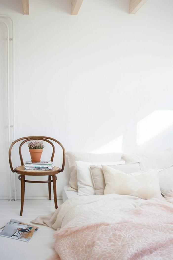 Design-magnifique-idée-intérieur-la-couleur-tendance-pour-chambre-à-coucher-blanc-moderne