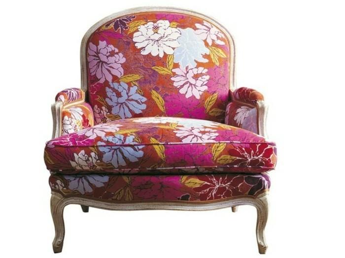 Fauteuil-marquis-motif-fleurs-printannieres