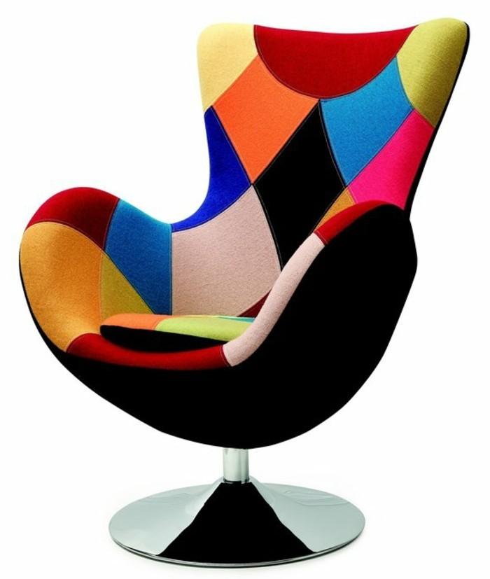Fauteuil-relax-design-pivotant-couleurs-vives