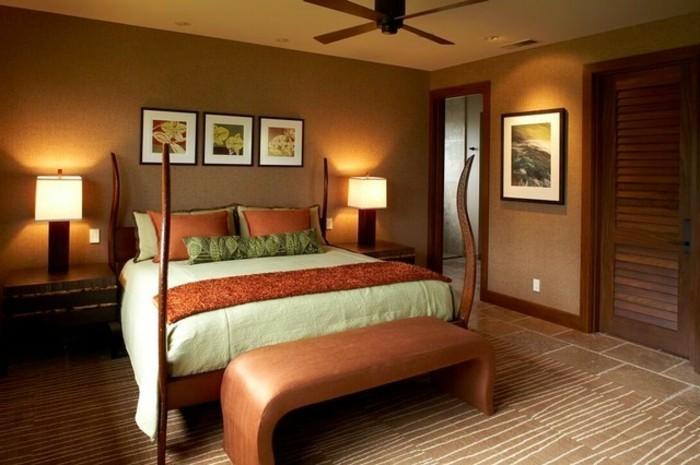 Les meilleures id es pour la couleur chambre coucher - Couleur chambre a coucher ...
