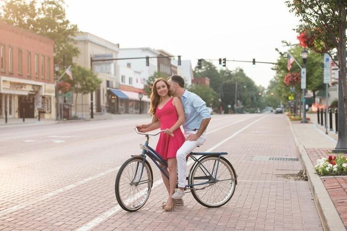 Image-retro-vélo-vintage-jolie-photographie-bicyclette-belle-rue