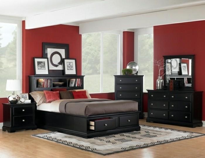 Les-dernières-tendances-pour-les-couleurs-de-votre-chambre-à-coucher-moderne-rouge