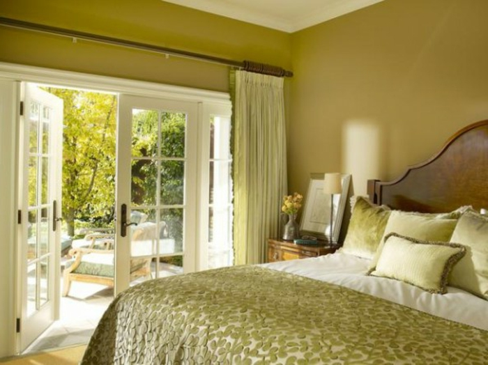 Chambre Couleur Vert Et Violet : La couleur pour chambre à coucher ...