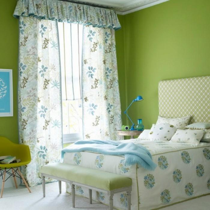 Les-meilleures-idées-pour-votre-couleur-de-chambre-à-coucher-en-tendance-vert