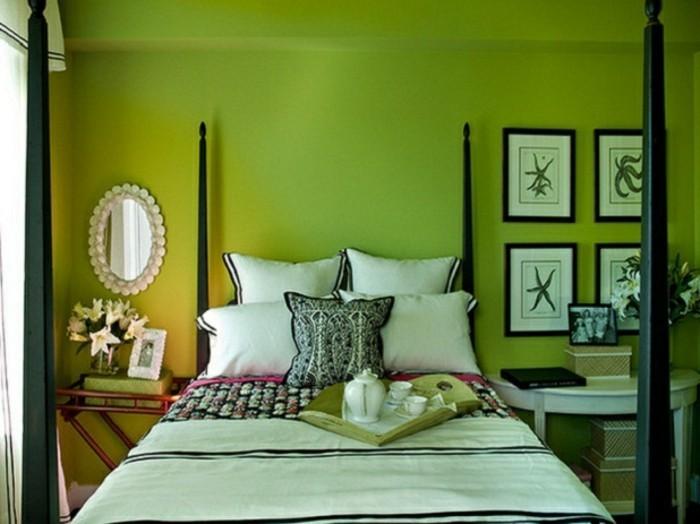 Les-plus-belles-chambres-à-coucher-couleur-magnifique-à-avoir-dans-la-maison-le-vert