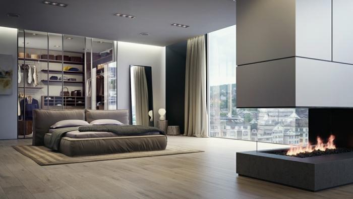 Magnifique-idée-couleur-pour-chambre-à-coucher-adulte-trop-cool-déco-intérieur-moderne
