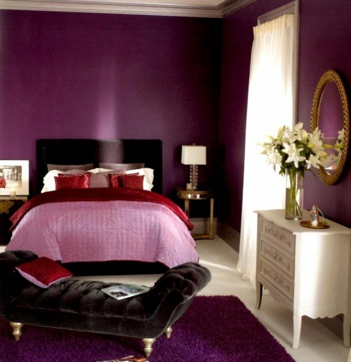 Magnifique-idée-couleur-pour-chambre-à-coucher-adulte-trop-cool-déco-intérieur-violet