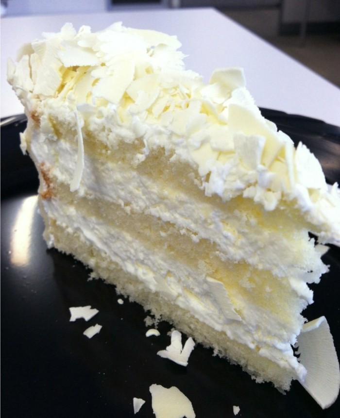 Gâteau Au Chocolat Glaçage Aux épices: Gâteau Au Chocolat Blanc