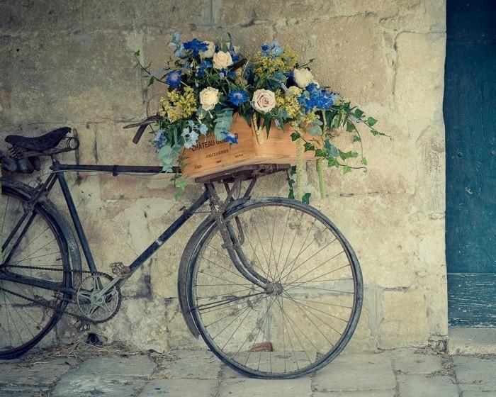 Nostalgique-pièces-vélo-vintage-velo-occasion-cool-fleurs