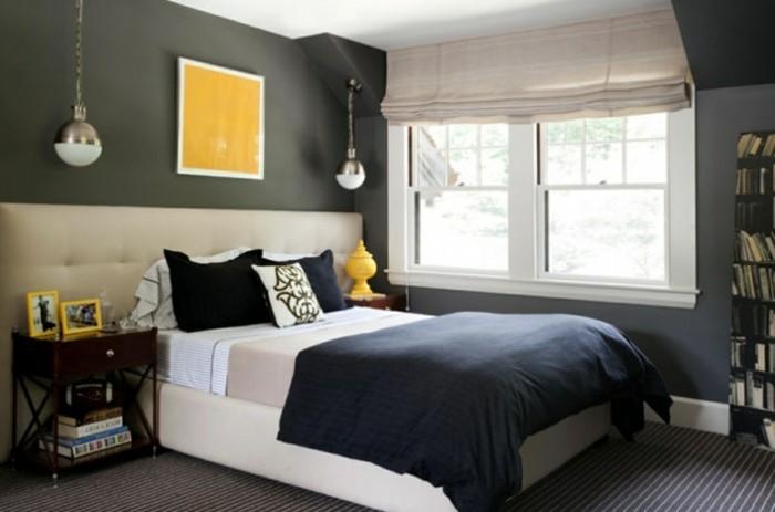 Deco Salon Blanc Et Gris Design :  créer la meilleure décoration belle couleur pour chambre à coucher