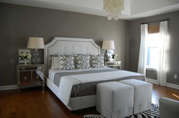 Les meilleures id es pour la couleur chambre coucher for Quelle couleur pour une chambre a coucher