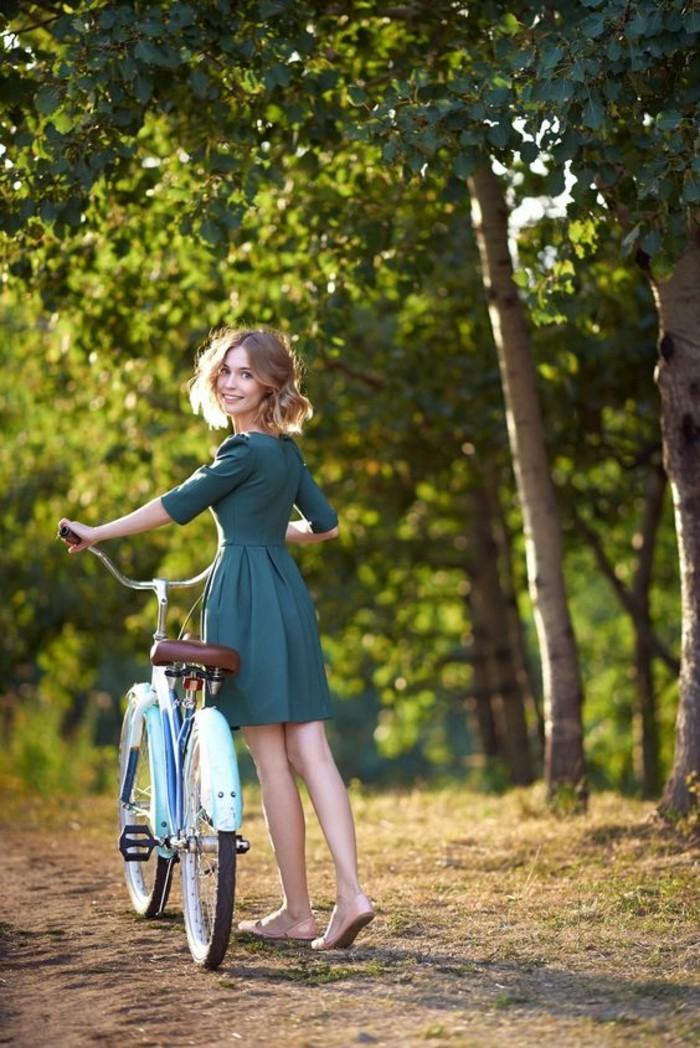 Style-à-deux-roux-velo-retro-vintage-cycles-belle-photo-belle-fille
