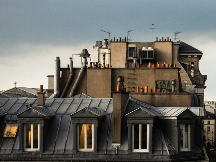 appartement-toit-terrasse-paris-beauté-de-la-ville-de-Paris-beau-voir-les-espaces