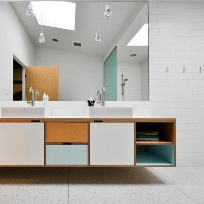 L armoire de toilette quel design choisir et quel mat riau for Armoire de toilette salle de bain ikea