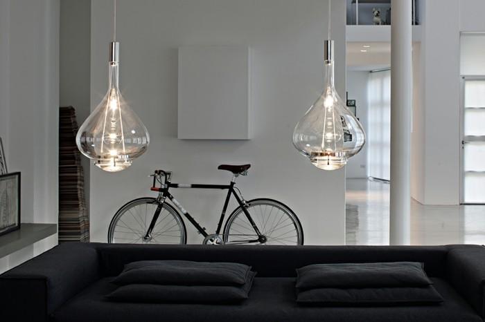 belle-idée-pour-le-plafonnier-luminaire-suspension-luminaire-cuisine-bicyclette
