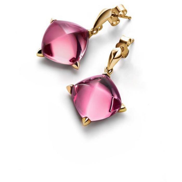 bijoux-baccarat-boucles-d'oreilles-roses