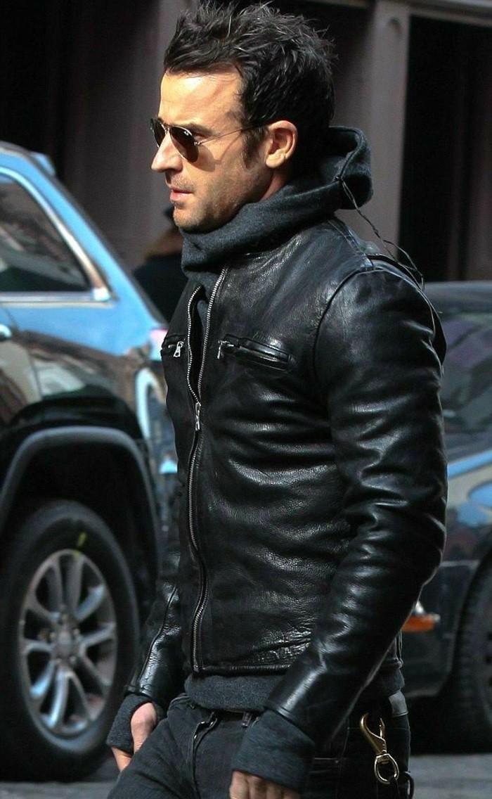 Le blouson cuir homme symbole de masculinit - Chute de cuir pas cher ...