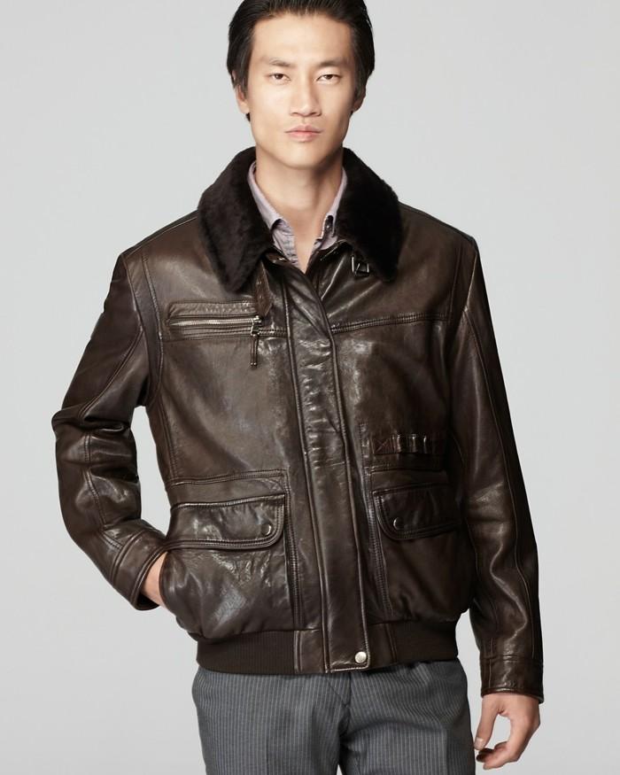 veste en cuir marron homme zara les vestes la mode sont populaires partout dans le monde. Black Bedroom Furniture Sets. Home Design Ideas