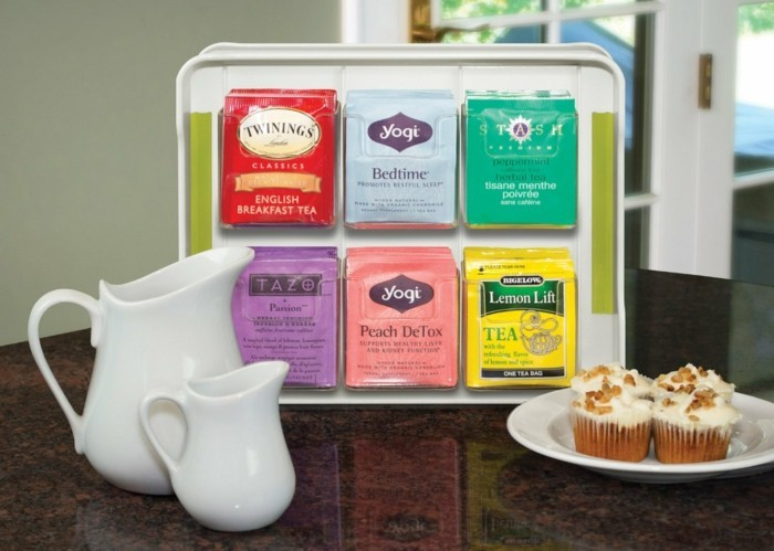 le coffret de thé - un cadeau très mignon - archzine.fr - Box Cadeau Cuisine