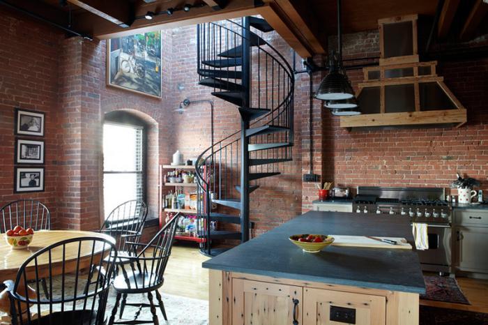 Salle De Bain Orange Et Bois : Cuisine Mur Brique Rouge: Decorer interieur mur en briques rouges …
