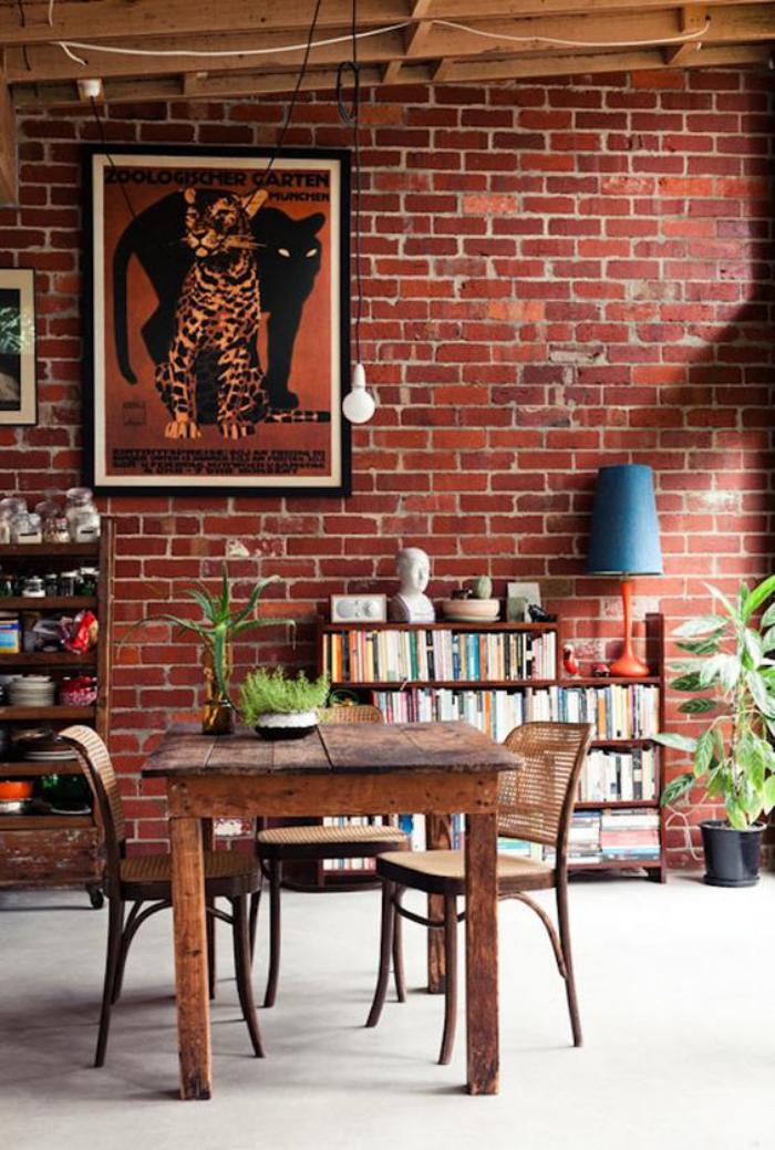 brique-rouge-espace-vintage-déco-briques-rouges