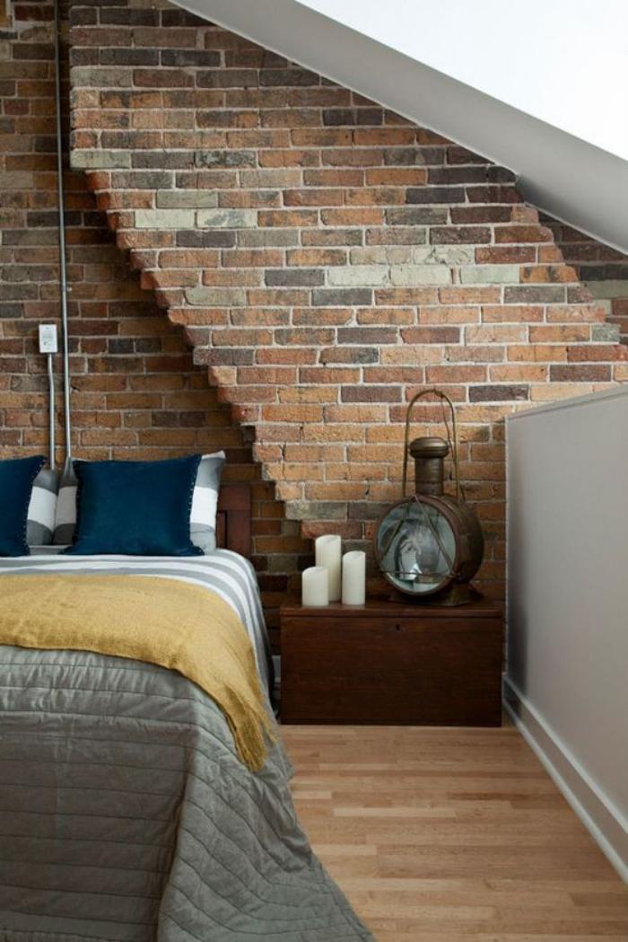 brique-rouge-parement-brique-rouge-chambre-à-coucher
