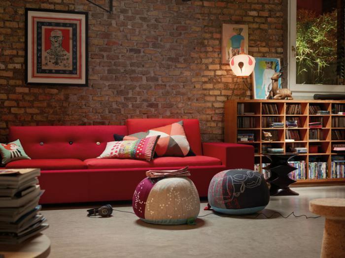 brique-rouge-salle-de-séjour-originale