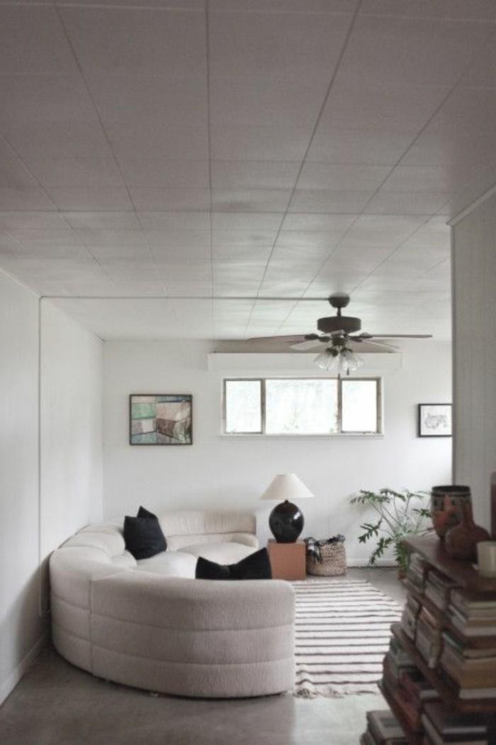 Le canap d 39 angle arrondi comment choisir la meilleure - Meuble d angle pour salon ...