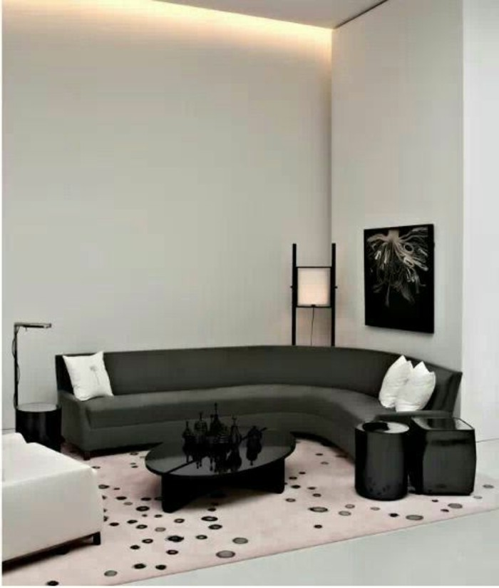 le canap d 39 angle arrondi comment choisir la meilleure. Black Bedroom Furniture Sets. Home Design Ideas