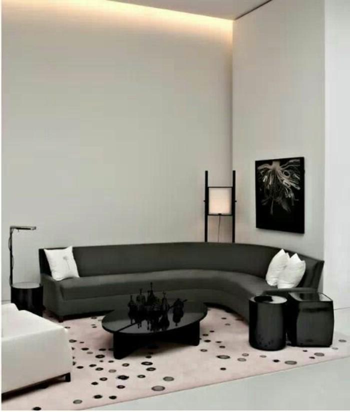 canape-conforama-gris-dans-le-salon-canapé-d-angle-arrondi-gris-meubles-chic