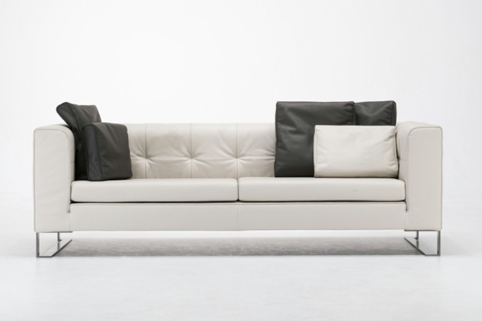 Le canap design italien en 80 photos pour relooker le salon for Meuble de canape