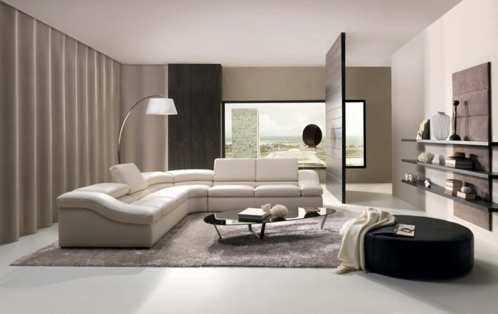 le canap design italien en 80 photos pour relooker le salon. Black Bedroom Furniture Sets. Home Design Ideas