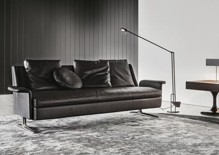 Le canap design italien en 80 photos pour relooker le salon for Moquette moderne